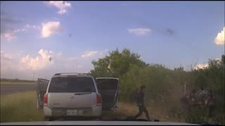 WILD Dashcam Video of Human Smuggler Car Chase Ends with a Dozen Illegals Spilling Out of Van