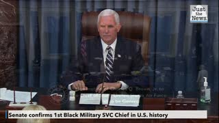1st black Military SVC Chief in U.S. History