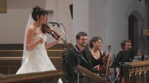 Bride Sings Surprise Song At Wedding Ceremony