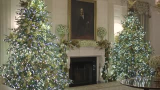 White House Christmas Decorations 2018