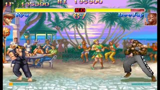 Street Fighter, an Evolution Of All Series Games From 1987 - 2019