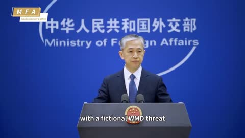China Compares U.S. Virus Probe To Overhyping Of WMDs To Justify War In Iraq