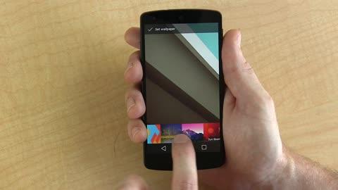Android L full walkthrough