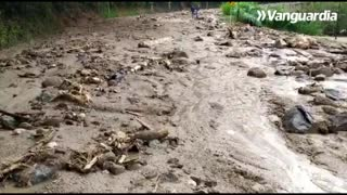 En imágenes: Fuerte lluvia provocó grave emergencia en Piedecuesta