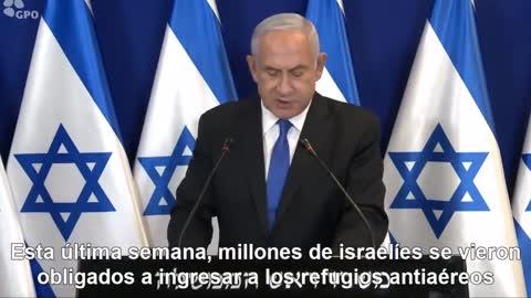 Breaking news from ISRAEL: speech by PRESIDENT Benjamin Netanyahu