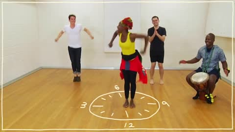 Five(ish) Minute Dance Lesson - African Dance