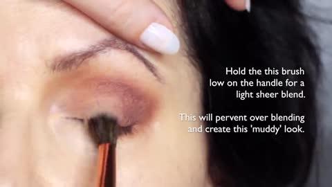 Beginners Eye Makeup Tutorial for Mature Skin