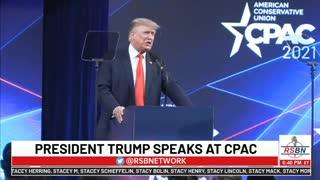 Trump CPAC 2021 July 11