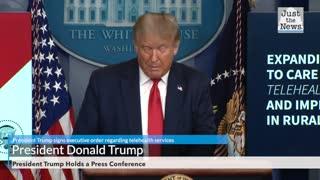 President Trump signs executive order regarding telehealth services