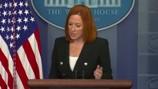 Psaki Says There Have Been More COVID-19 Cases Among White House Staffers