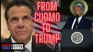 From Cuomo to Trump. Joe Piscopo on AMERICA First with Sebastian Gorka