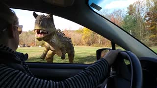 Dinosaurs on the loose