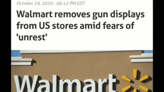 Walmart removes guns from sales floor nationwide