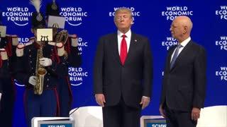 Donald Trump Speaks at Davos 2018 New News