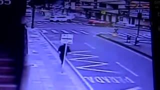 Accidente calle 36 con 22 en Bucaramanga