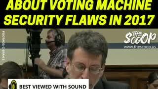 Voter Fraud Again... Voting Machines Hacked
