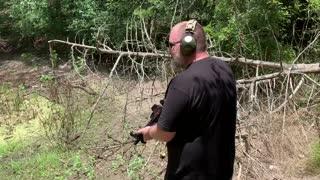Test firing my AR Pistol Build