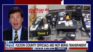 Tucker Carlson on Election Fraud in Fulton County Georgia