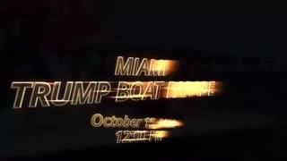 Miami Trump Boat Rally