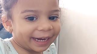 my daughter singing happy birthday