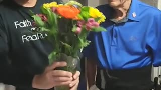 Why I Gave My 92 Year Young Dad Flowers for Father's Day!! (get Ready to Laugh)!