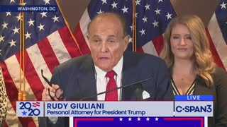 Rudy Giuliani EXPLODES on Media for Censoring Voter Fraud Claims Made Under Oath