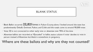 Dozens of Georgia witnesses expose election irregularities
