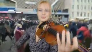 Перемен В. Цоя кавер на скрипке