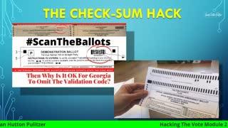 Hacking The Vote - Module #2 - Low Tech Hacks w Jovan Hutton Pulitzer