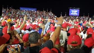 USA! USA! USA! Miami Trump Rally!