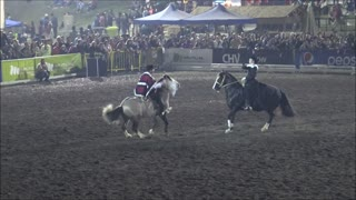 Cueca horse dance chile