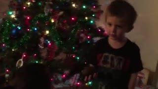 Kid gets avocado for Christmas, thinks it's coal