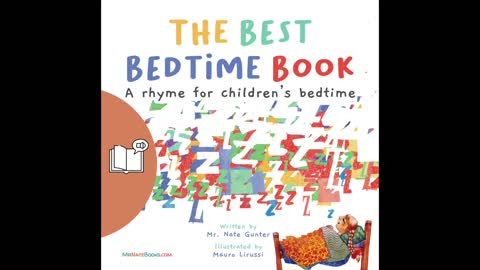 #9 Preview Children's Audiobook - The Best Bedtime Book: A rhyme for children's bedtime