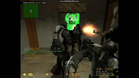 Counter-Strike: Source v34 ze_underground_escape