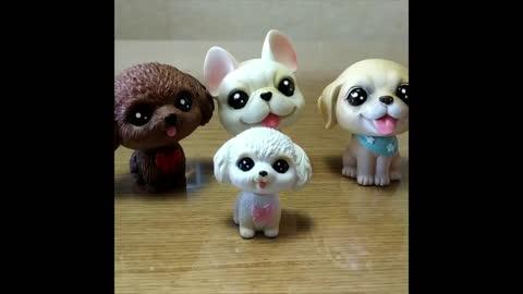 Cutest Doggo Love Miniature Bobbleheads