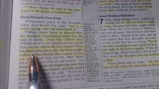 Bible study - John 6:60-71
