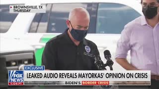 LEAKED AUDIO: Biden's HHS Director Mayorkas: This is unsustainable... We're Going To Lose