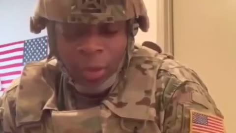 Soldier's Message to Trump Supporters Will Keep You in The Fight