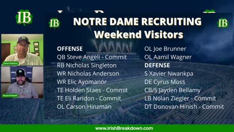 Wrapping Up Notre Dame's Huge Recruiting Weekend
