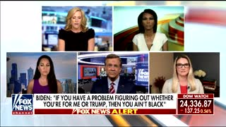 """""""Outnumbered"""" responds to Biden's remarks"""
