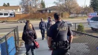 Pastor Sends Mask Police Away With Shame!