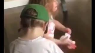 Quarantine kids moments