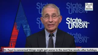 Dr. Fauci is concerned things may get worse