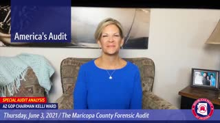 AZGOP Chairwoman provides update on Arizona audit June 4