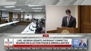Q #6 to GA Secretary of State Office rep at Senate Oversight Committee Hearing. 12/03/20.