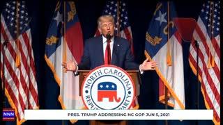 Former Pres Trump hints at running in 2024