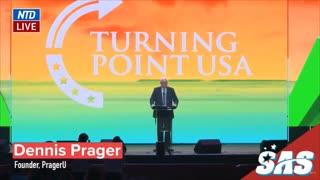 DENNIS PRAGER FULL SPEECH AT TURNING POINT USA (12/19/20 - DAY 1)