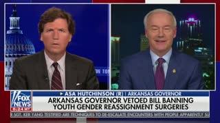 Tucker Carlson Tears In To Arkansas Governor