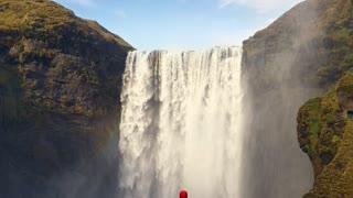 Beautiful water fall 😍