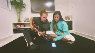 Vídeo. Vítor Kley mostra momento de muito amor com Carolina Loureiro